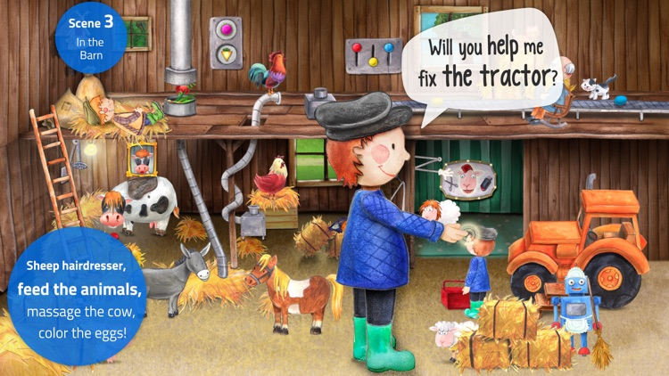 Tiny Farm: Toddler Games 2+ screenshot-3