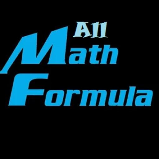 All Maths Formulas