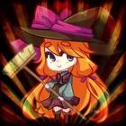 かわいい魔女バレンタインデー - 子供のための素敵なゲーム icon