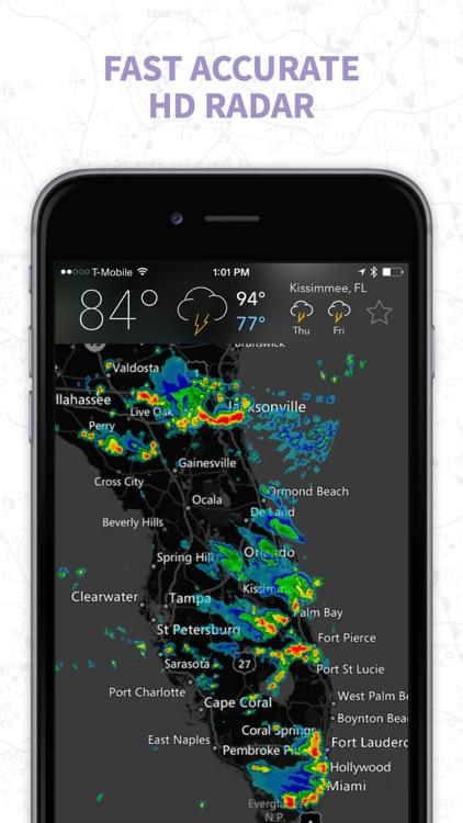 MyRadar Pro NOAA Weather Radar, Forecasts & Storms screenshot-0