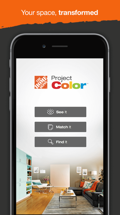 Project Color™ The Home Depot Screenshot