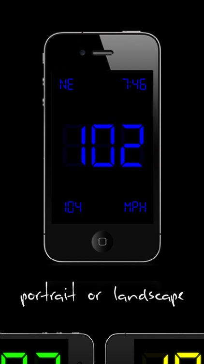 SpeedGlow Speedometer - Gesture Controlled Speedo screenshot-2