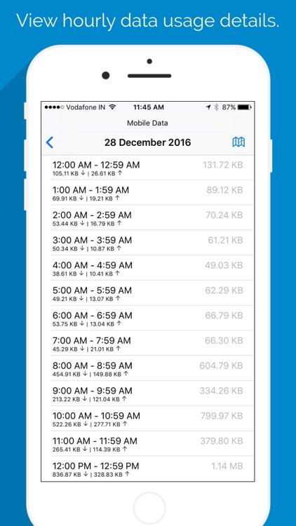 Data Tracker - Data Usage and Network Monitor screenshot-4