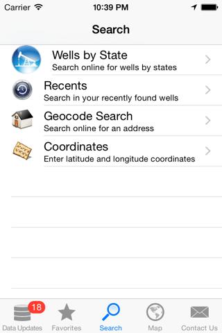 WellSite Navigator USA Pro screenshot 1