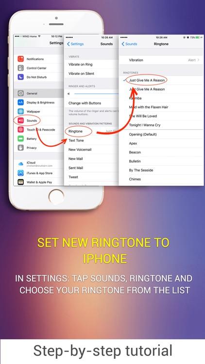 Unlimited Ringtones Maker for iPhone screenshot-4
