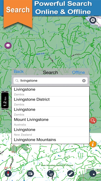 Living Stone Conroe Sam Houston lake & park trails screenshot-3