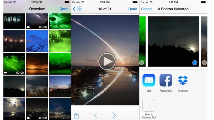 Night Photo and Video Shoot screenshot-4