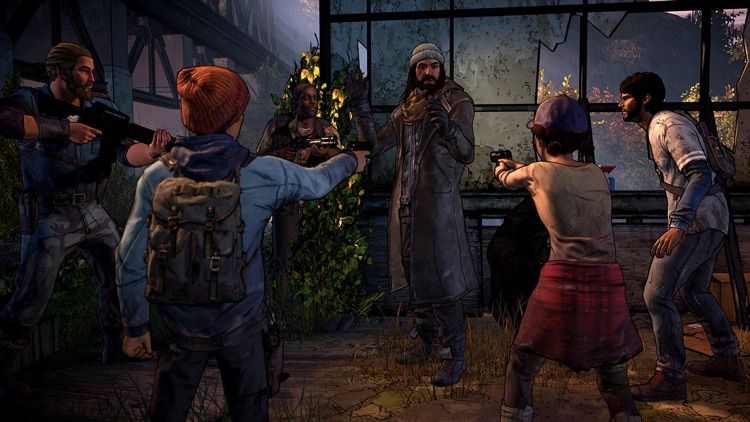 The Walking Dead: A New Frontier screenshot-3