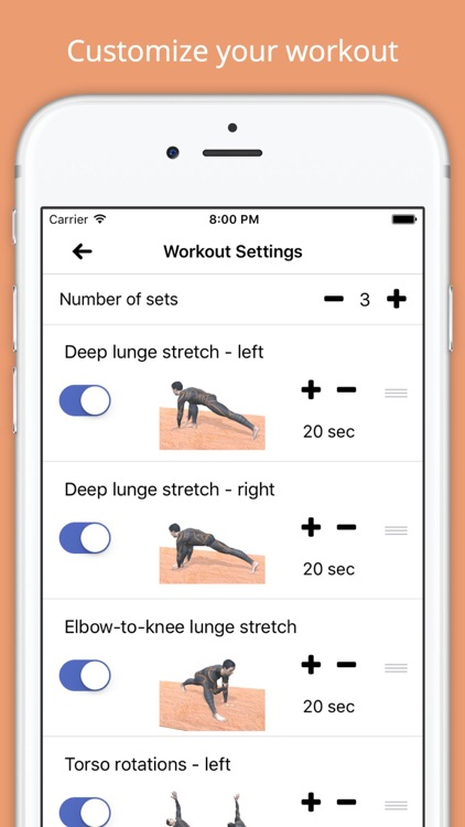 10 Min Stretch Workout Challenge Free Pain Relief screenshot-4
