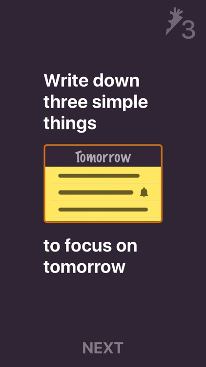 3 Things to Do - To-Do list screenshot-0