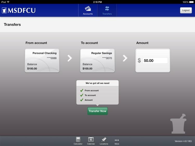 Merck Sharp & Dohme FCU Mobile for iPad screenshot-3