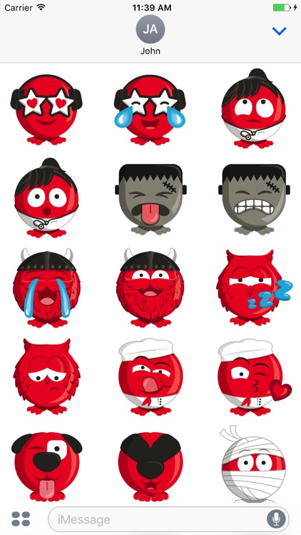 The Red Enojis