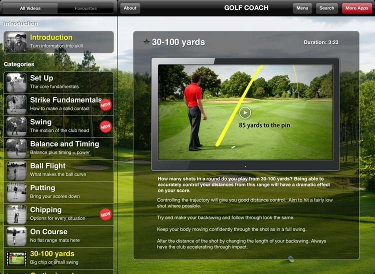 Golf Coach by Dr Noel Rousseau for iPad screenshot-4
