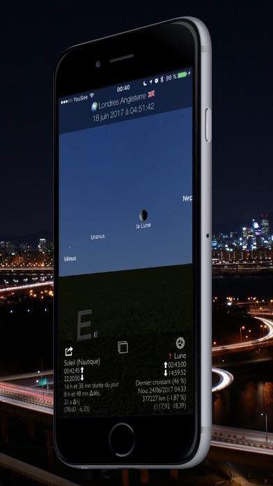 Screenshot #2 pour Soleil et Lune 3D Planétarium