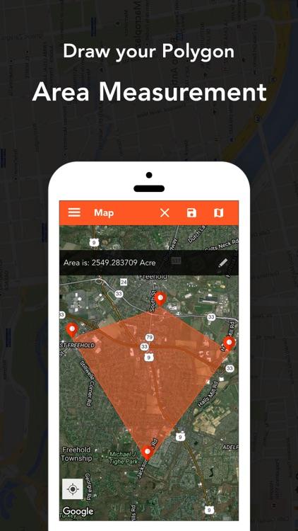 Geo Map -Field Area Calculator