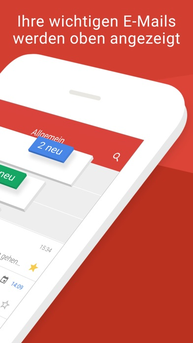 Screenshot for Gmail – E-Mail von Google in Germany App Store