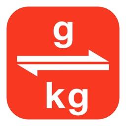 Grams to Kilograms | Gram to Kilogram | g to kg