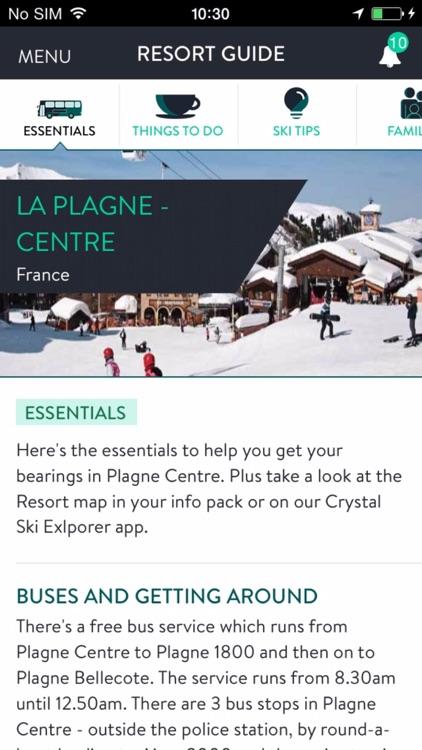 Crystal Ski Explorer - Snow reports & Resort guide