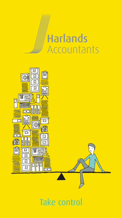 Harlands Accountants LLP screenshot one