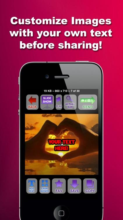 Valentines Messenger - Send Valentine Day Messages screenshot-3
