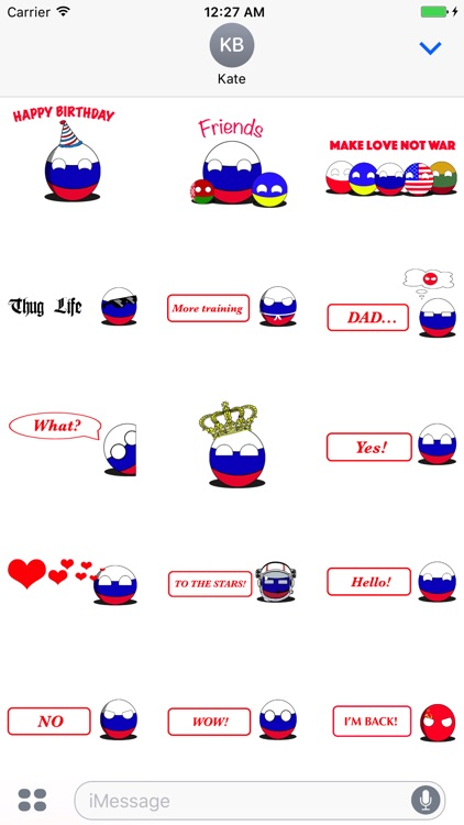 CountryBalls- RU screenshot-3