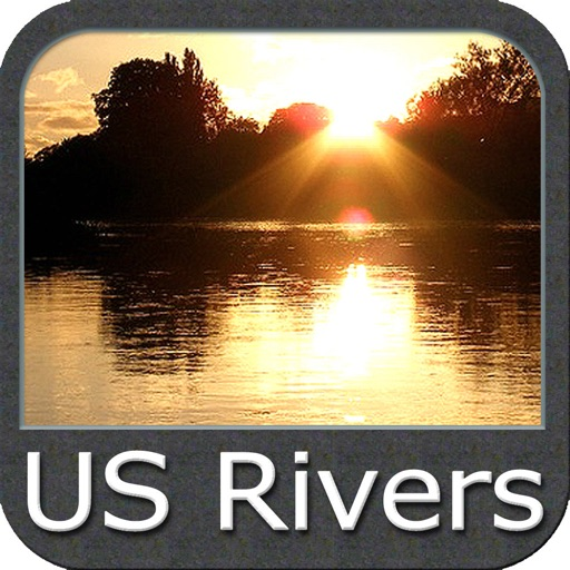 US Rivers - GPS Map Navigator