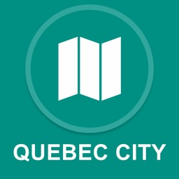 Quebec City, Canada : Offline GPS Navigation