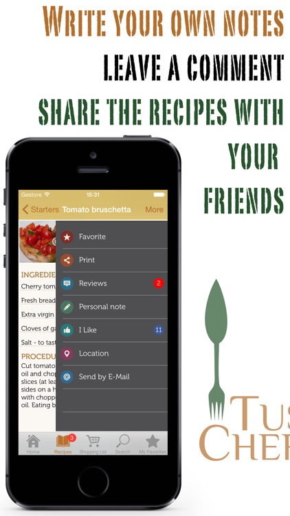 Tuscan Chef - All recipes from Italian tradition screenshot-3