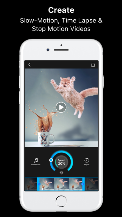 Slow Motion Fx Video Editor Screenshot on iOS
