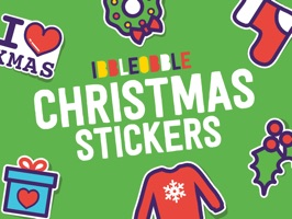 Try our festive Ibbleobble stickers to make your messages merry at Christmas time