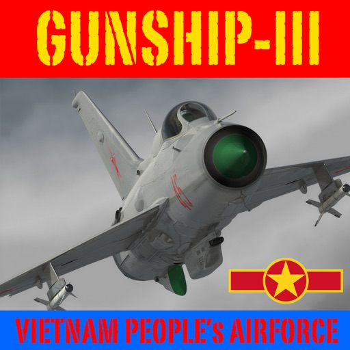 Gunship III - Combat Flight Simulator - VPAF icon