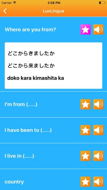 Learn Japanese Language LuvLingua