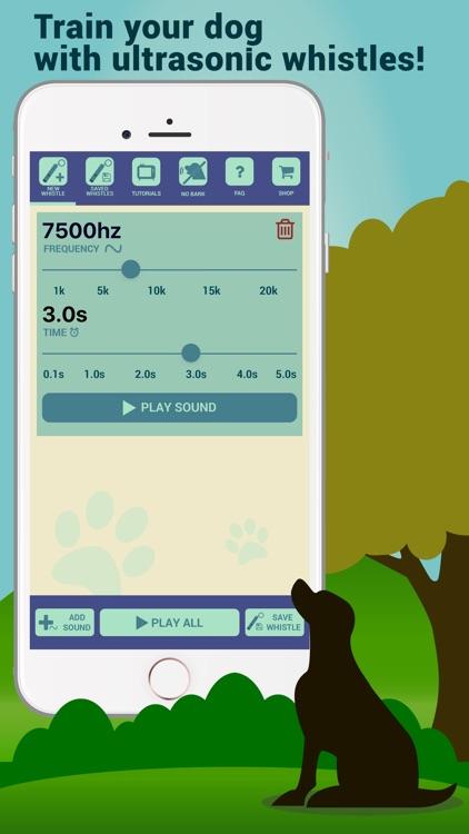 Dog Whistler – Whistle Sounds & Clicker Training