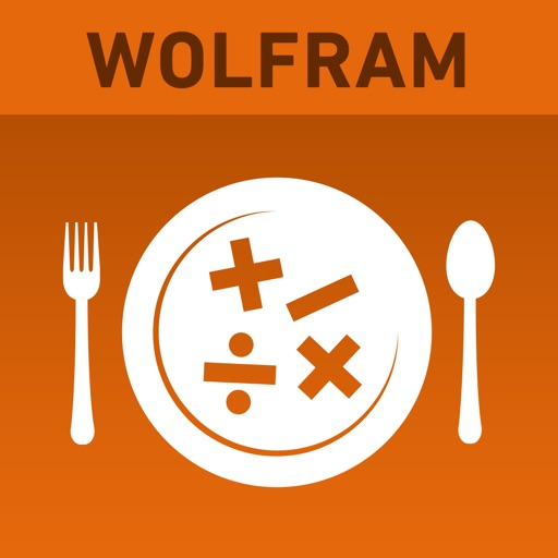 Wolfram Culinary Mathematics Reference App icon
