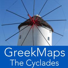 GreekMaps - Les Cyclades dans votre poche