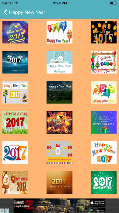 Happy New Year 2017 Messages & Greetings screenshot two