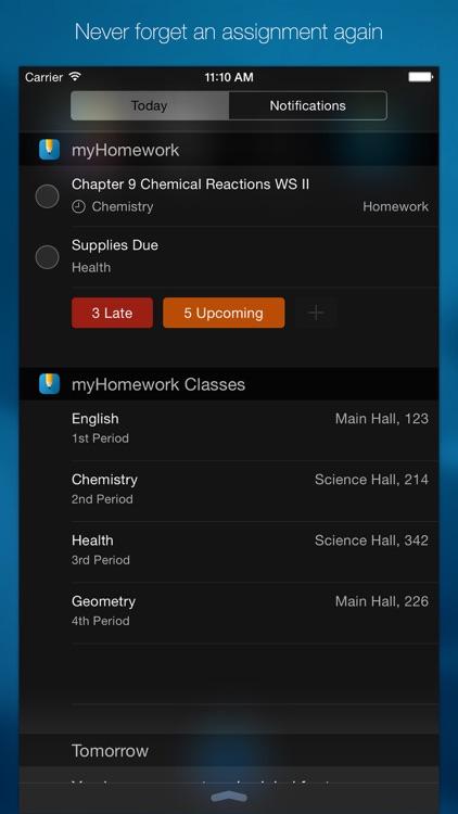 myHomework Student Planner screenshot-3
