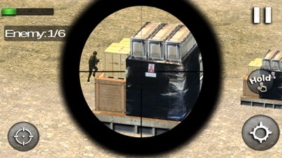 Gunship Sniper Shooter: Helicopter Air Battle screenshot three