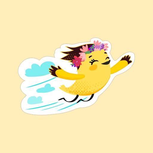 Birdie Stickers