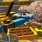 Crusher de coches junkyard crane & simulador de dr icon