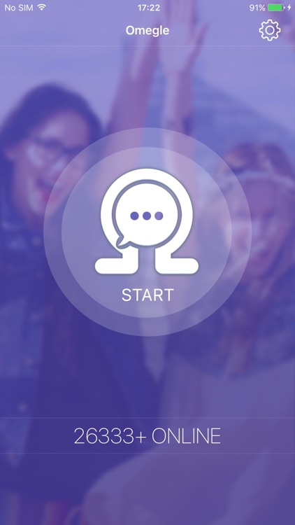 Omegle - Chat for Strangers. Anonymous! app image