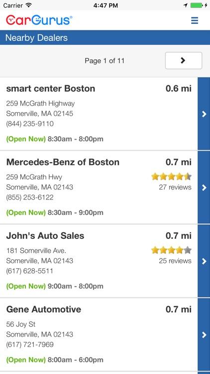 CarGurus: Shop Cars, Get Deals screenshot-4