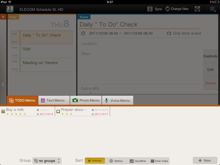 Schedule St. HD screenshot-4