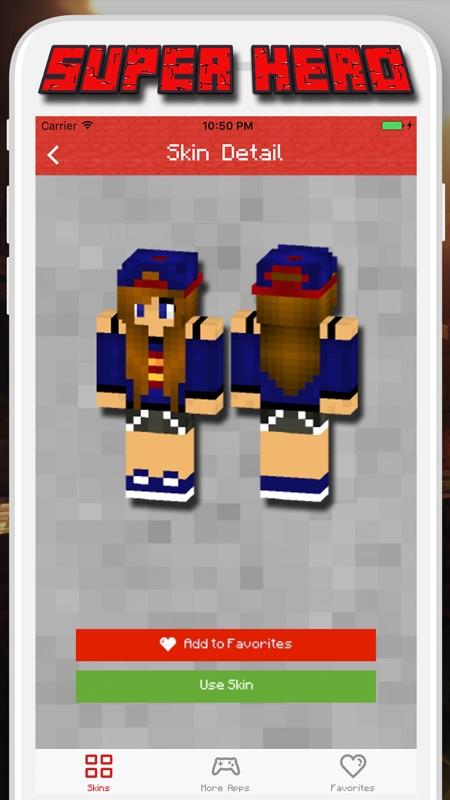 Super Hero Skins For Minecraft Pe Pocket Edition Online