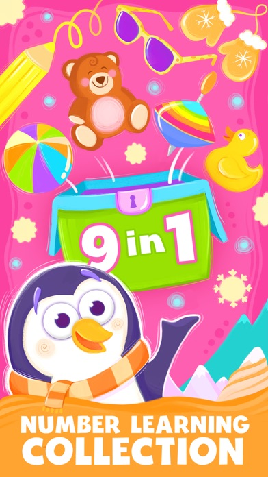 Animal Number Games for Toddlers Fun Math Games