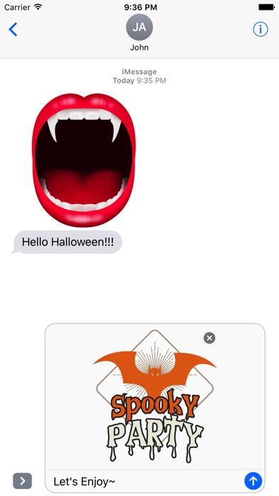 Halloween - Realistic Elements + Badge + Quotes screenshot 2