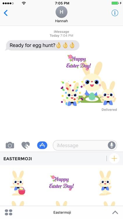 Eastermoji - Animated Easter Emoji and Stickers screenshot-3