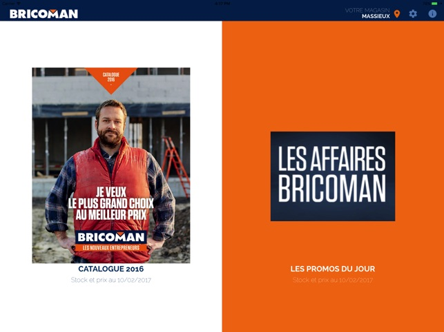 Bricoman Catalogue Im App Store