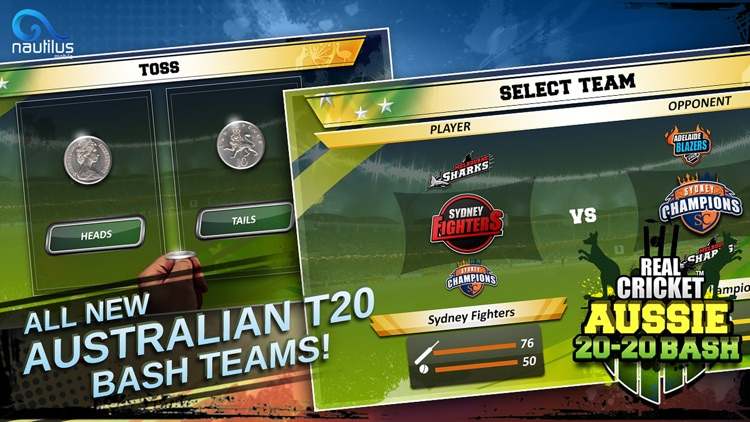 Real Cricket™ Aussie T20 Bash screenshot-3