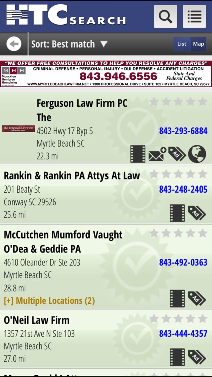 HTC Yellow Pages screenshot-3